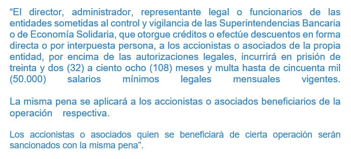 articulo 315 ley 599 de 2000